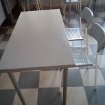 Комплект стол и два стула б/у, Самара