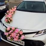 Свадьба новые Тойота Камри для кортежа в аренду., Самара