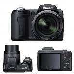Цифровой фотоаппарат-ультразум Nikon L110, Самара