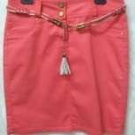 Продам юбку кораллового цвета; торг!, Самара