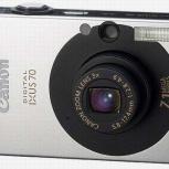 Цифровой фотоаппарат Canon ixus 70, Самара