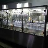 Триблок (ополаскиватель-розлив-укупор) розлива в ПЭТ бутыли 5 л, Самара