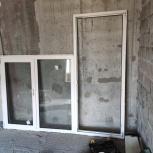 Балконный блок ( дверь+ окно) и балконная дверь, Самара