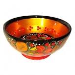 Чашка деревянная с росписью хохлома, Самара
