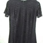 Продам блузу черную кружевную, на подкладке. Торг, Самара