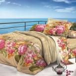 Комплект постельного белья Сальвадор 1,5 спальный макосатин, Самара