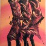 """Картина """"Масаи на охоте"""", Самара"""