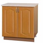 Шкаф-стол с дверцами вишня 80, Самара