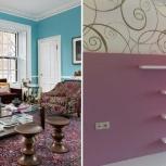 Малярные работы в квартире. Стены,потолок,обои под покраску, Самара