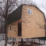 Строительство каркасного дома 6х6м, Самара