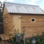 Строительство бани 2,3х3,7м, Самара