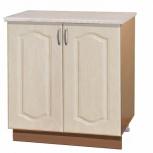 Шкаф-стол с дверцами шм80 перламутр, Самара