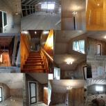 Внутренняя отделка.Ремонт дома. Вагонка.Лестницы., Самара