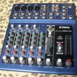 Микшерный пульт Yamaha mg8/2-fx, с обработкой, Самара