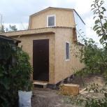 Строительство каркасного дома 3,8х4,8 м и веранда 3,2х3,8 м, Самара