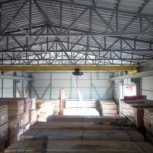 Опоры и навес (металлоконструкции) однобалочного опорного крана, Самара