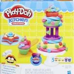 Делаем Торт. Набор Для Лепки Play-Doh, Самара