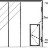 Ворота складчатые ВРС 4.2х4.2-ухл1, серия 1.435.2-28, Самара