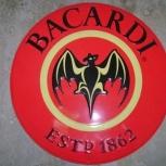 Сувенир-логотип рома Bacardi новый Торг, Самара