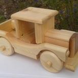 "Деревянные машинки - пикап, ""штирлиц"", кабриолет, грузовичок, мотоцикл, Самара"