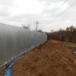 Строительство металлического забора, Самара