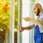 Ремонт пластиковых окон и дверей москитные сетки замена уплотнителей, Самара
