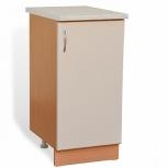 Шкаф-стол с дверью шн40 жемчуг, Самара