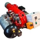 Горелка AL-35V (120-360 кВт) для котла на отработанном масле, нефти, Самара