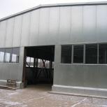 Быстровозводимые ангары из легких металлоконструкций (ЛМК), Самара