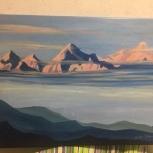 Мастер-класс по живописи на холсте, Самара