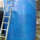 Емкость пластиковая 10000 литров для хранения жидкостей, Самара