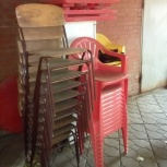Пластиковый стол и стулья - для дачи, бара, кафе и др., Самара