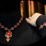 Комплект «Императрица»: колье, серьги, браслет, эксклюзив, Самара
