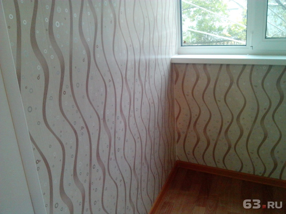 Обшивка балкона . цена - 400.00 руб., самара - 63.ru.