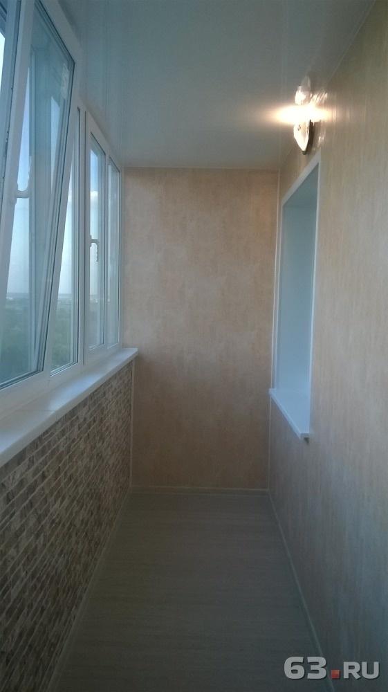 Внутренняя отделка балконов и лоджий . цена - договорная., с.