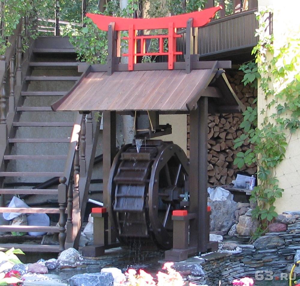 экспонометр декоративные водяные мельницы фото два
