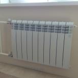 Монтаж радиаторов отопления. Замена стояков отопления, Самара