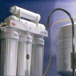 установка и подключение мойки кухни и фильтра очистки воды, Самара