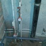 Разводка труб водопровода и канализации в квартирах и  домах, Самара