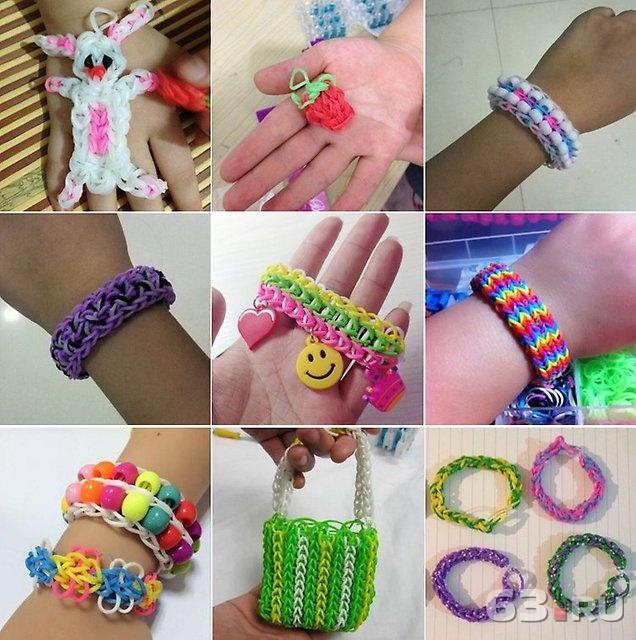 Плетем браслеты для детей