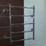 Подключение полотенцесушителя в ванной. Установка байпаса, Самара