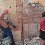 Демонтаж перегородок, стен, зданий, сооружений, вывоз мусора, Самара